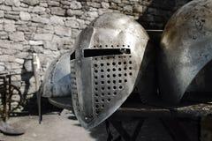 中世纪的装甲 库存照片
