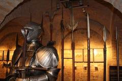 中世纪的装甲 库存图片