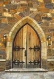 中世纪的门道入口 库存照片