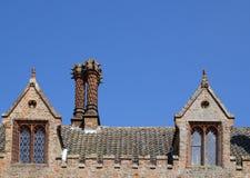 中世纪的顶楼 免版税图库摄影