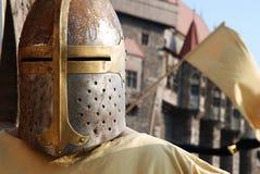 中世纪的骑士 免版税图库摄影