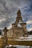 中世纪石修道院 免版税库存照片