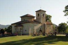 中世纪石城堡 免版税库存照片