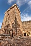 中世纪石塔楼 库存照片