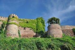 中世纪石墙 佐治亚第比利斯 免版税库存图片