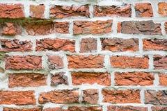 中世纪砖墙 库存照片