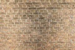 中世纪砖墙 免版税图库摄影