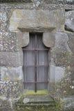 中世纪窗口在卡尔卡松 图库摄影