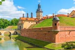 中世纪美丽的城堡 免版税库存图片