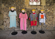 中世纪衣物 图库摄影