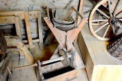中世纪被加强的修道院的博物馆在Crit克洛伊茨,特兰西瓦尼亚 免版税库存图片