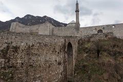 中世纪被加强的大厦在特拉夫尼克01 图库摄影