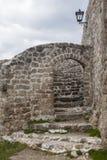 中世纪被加强的大厦在特拉夫尼克04 图库摄影