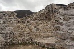 中世纪被加强的大厦在特拉夫尼克08 免版税库存照片