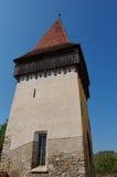 中世纪被加强的教会本营 库存照片
