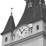 中世纪被加强的教会Cristian,特兰西瓦尼亚 免版税库存图片