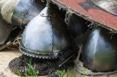 中世纪装甲特写镜头 免版税图库摄影