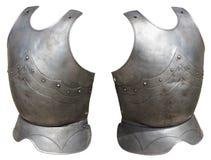 中世纪装甲的骑士 库存照片