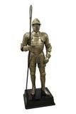 中世纪装甲的骑士 图库摄影