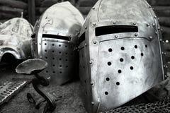 中世纪装甲 免版税图库摄影