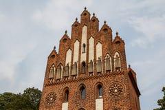 中世纪设防在新勃兰登堡 免版税库存图片