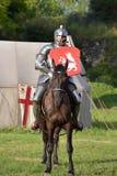 中世纪重建的节日 库存图片
