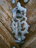 中世纪门硬件 库存照片