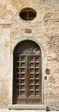 中世纪门道入口 库存图片