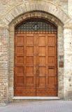 中世纪门道入口 库存照片