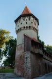 中世纪防御塔 免版税库存图片