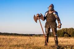 中世纪骑士 免版税图库摄影