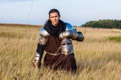 中世纪骑士 库存照片