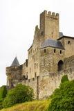 中世纪carcassonne的城堡 免版税图库摄影