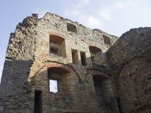 中世纪Cesis城堡 免版税库存照片