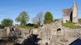 中世纪Domfront奥恩法国欧洲 免版税库存图片