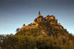 中世纪Hochosterwitz城堡,克恩顿州,奥地利 图库摄影