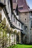 中世纪Kreuzenstein Castel在奥地利 库存图片