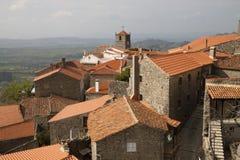 中世纪monsanto葡萄牙村庄 免版税库存图片