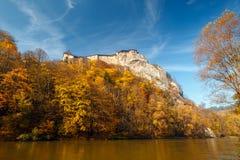 中世纪Orava城堡 免版税库存照片