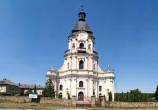 中世纪St领港教会 免版税图库摄影