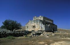 中东叙利亚阿勒颇大教堂MUSHABBAK 库存照片