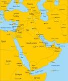 中东国家(地区) 免版税库存照片