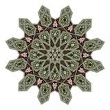 中东花卉样式主题 皇族释放例证