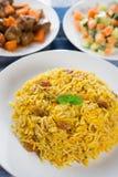 中东食物。 库存照片