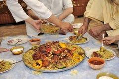 中东食物 免版税库存图片