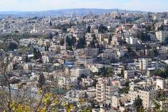 中东,巴勒斯坦,耶路撒冷,以色列,圣洁la 免版税库存照片