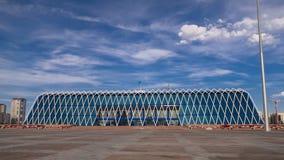 中亚,哈萨克斯坦,阿斯塔纳,独立timelapse hyperlapse宫殿  股票视频