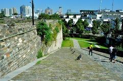 中华门城堡舷梯 库存图片