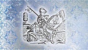 中古的骑士 免版税图库摄影