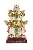 中国上帝雕象 免版税图库摄影